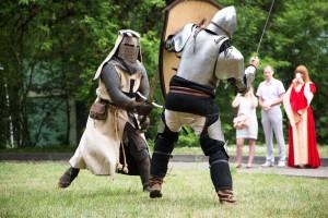 7 Свадьба в стиле средневековья